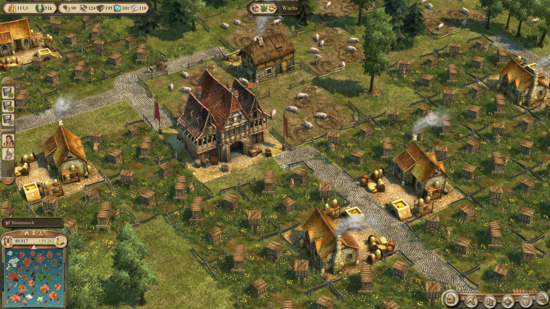 Anno 1404 History Collection mit dem neusten Patch