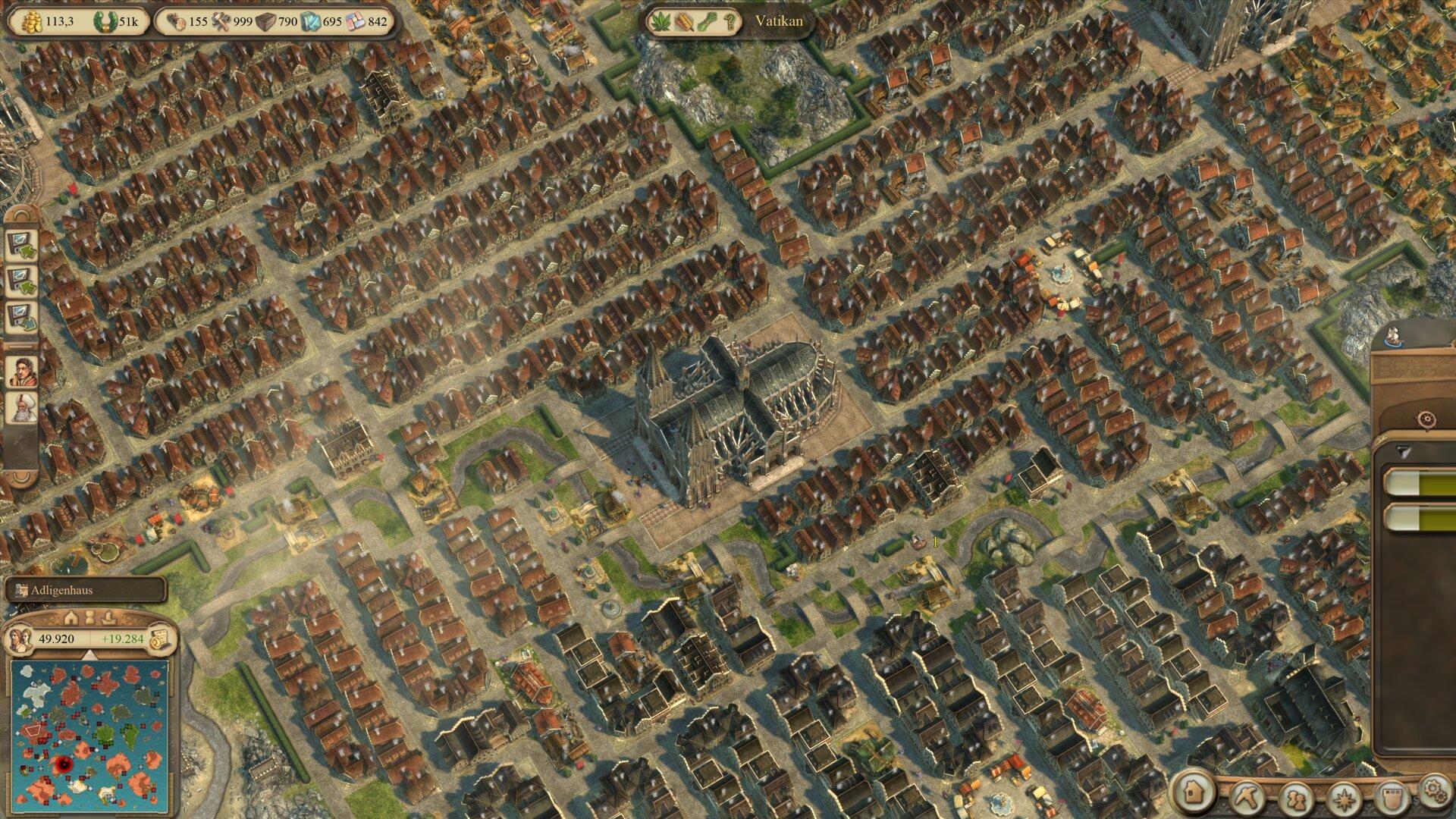 Anno 1404 History Collection vor dem Patch