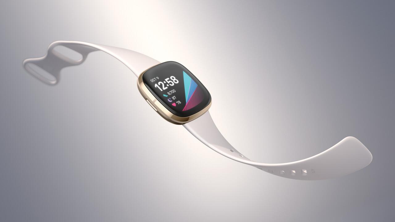 Fitbit Sense: Smartwatch misst Stress und Hauttemperatur