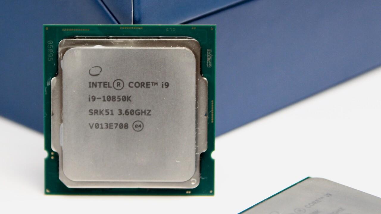 Intel Core i9-10850K im Test: Leistung des 10900K minus 100 MHz für 130 Euro weniger