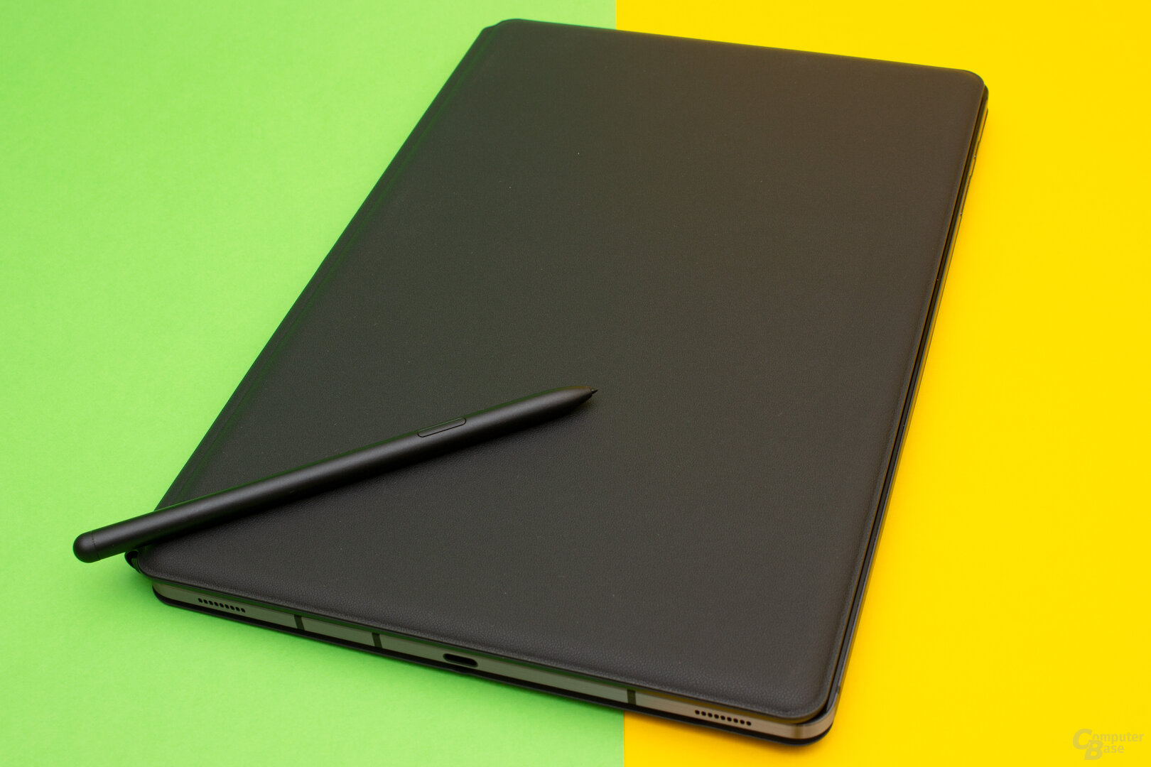 Durch die optionale Keybord-Hülle wird das Galaxy Tab S7+ gut geschützt