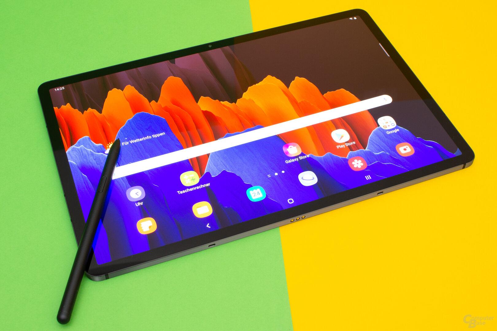 Samsung Galaxy Tab S7+ im Test