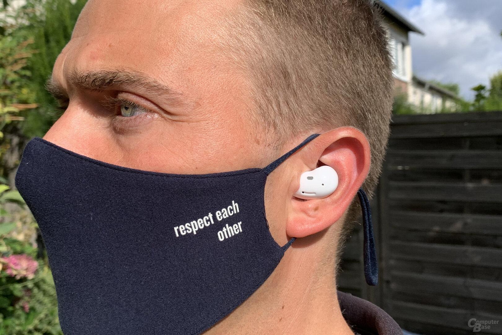 Samsung Galaxy Buds Live: Die Bohne im Ohr