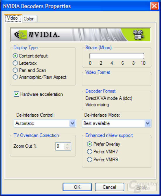 nVidia Decoder