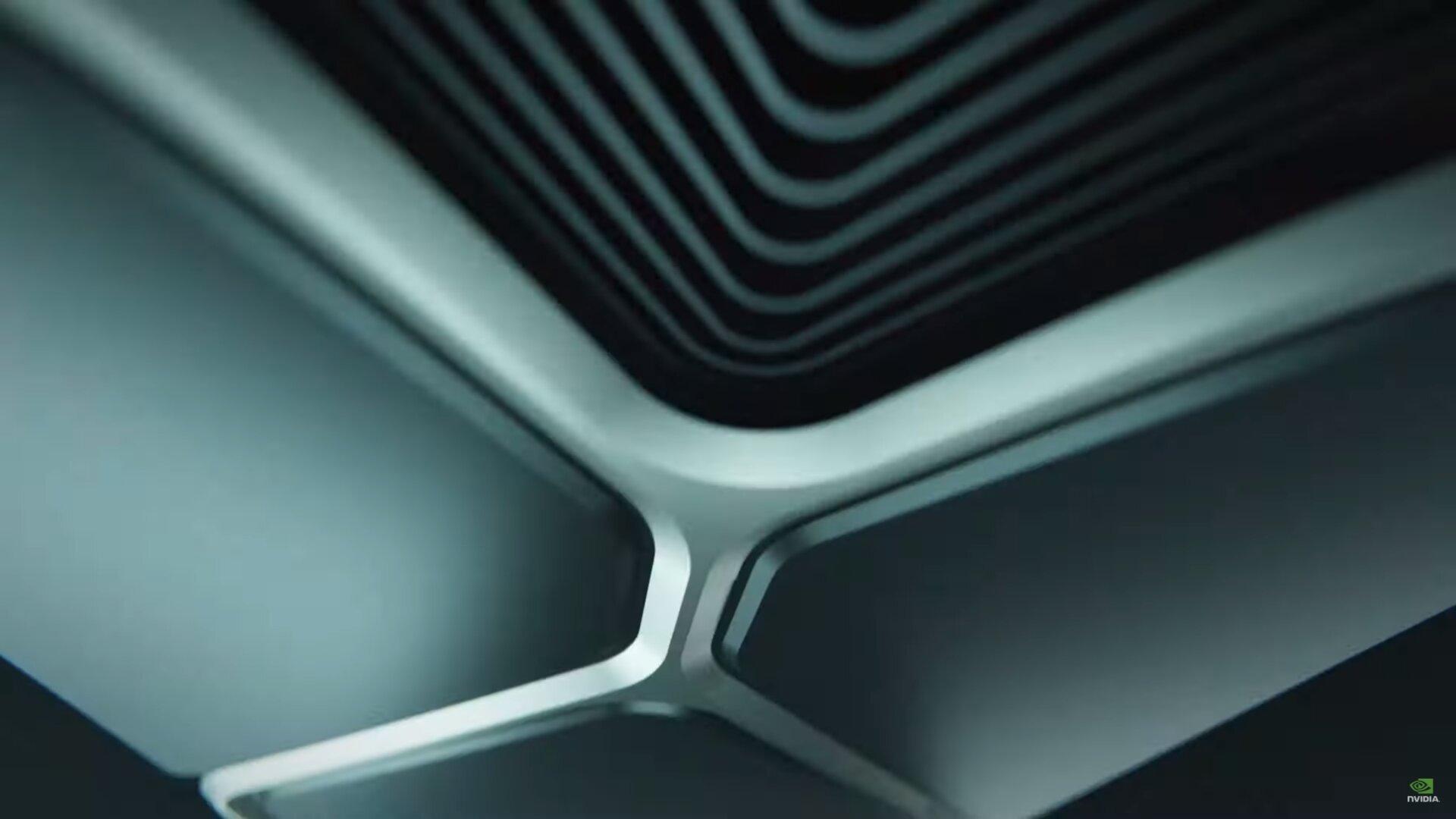 Ein kurzer Blick auf den Kühler der GeForce RTX 3000 FE