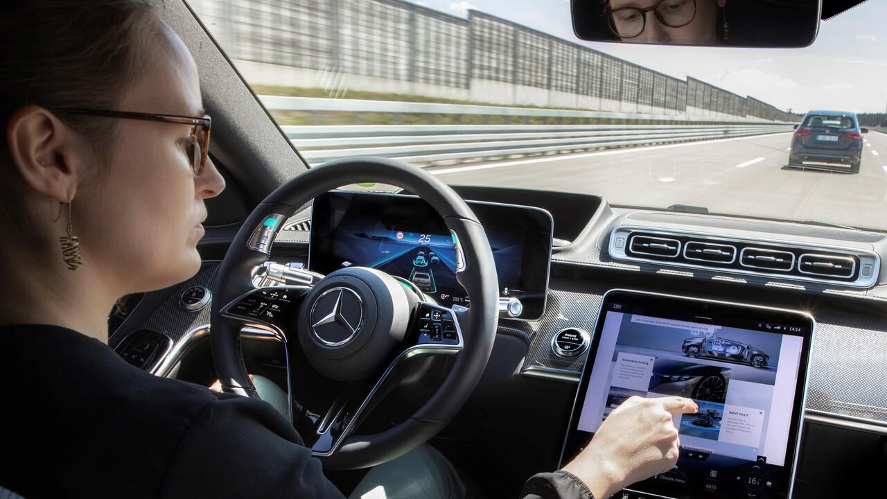 Drive Pilot: Neue S-Klasse fährt mit Level-3-System bis 60km/h allein