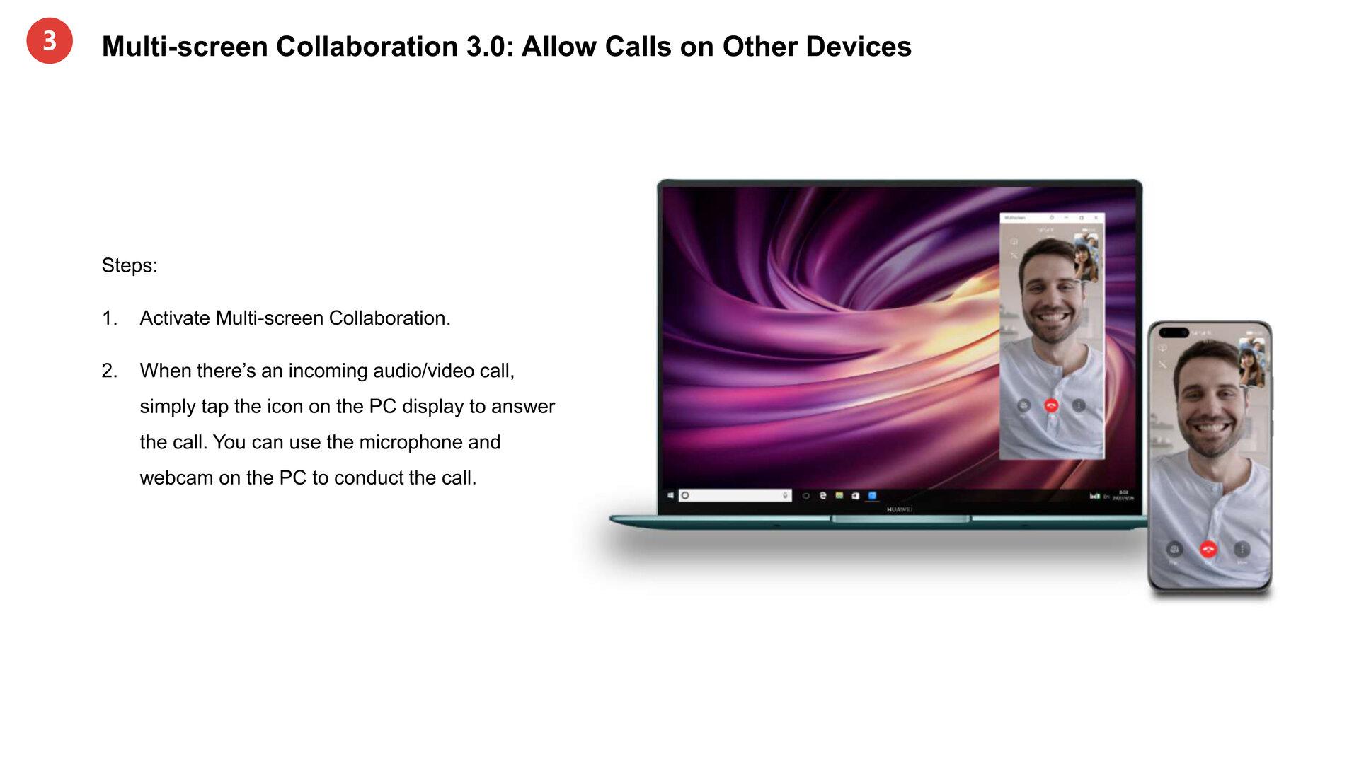Anrufe mit MeeTime auf anderen Geräten annehmen