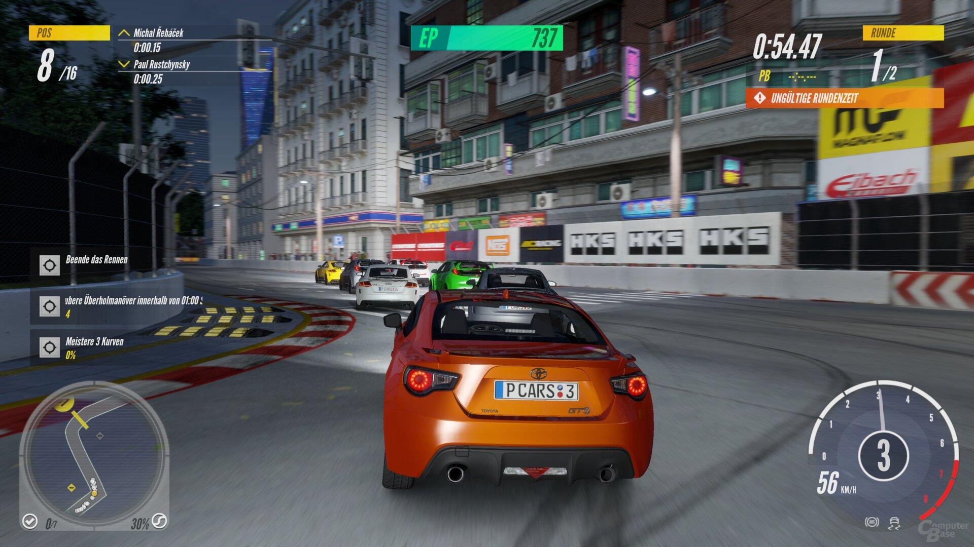 Project Cars 3 im Technik-Test