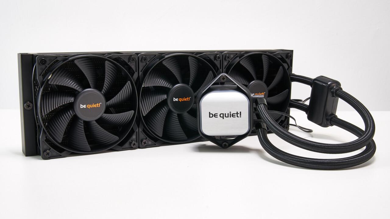be quiet! pure loop: Vier AiO-Kühler zwischen 120 und 360 Millimetern