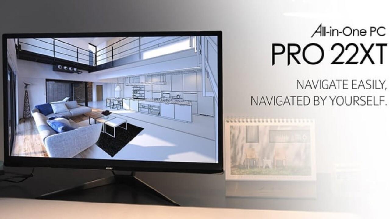 Office-All-in-One-PC: MSI Pro 22XT 10M mit Touch-Display steht vor Marktstart