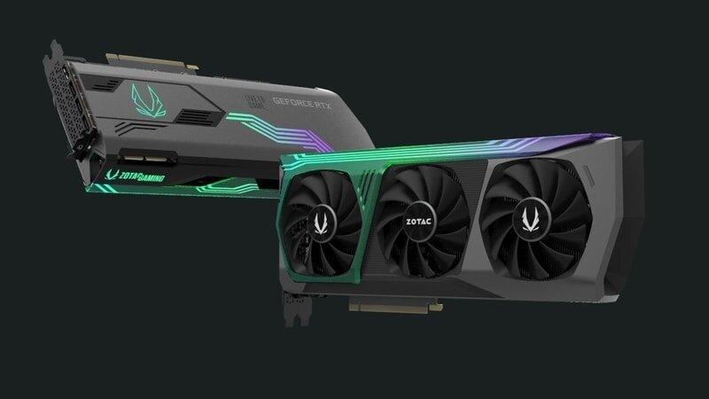GeForce RTX 3090/3080 im Custom Design von Zotac