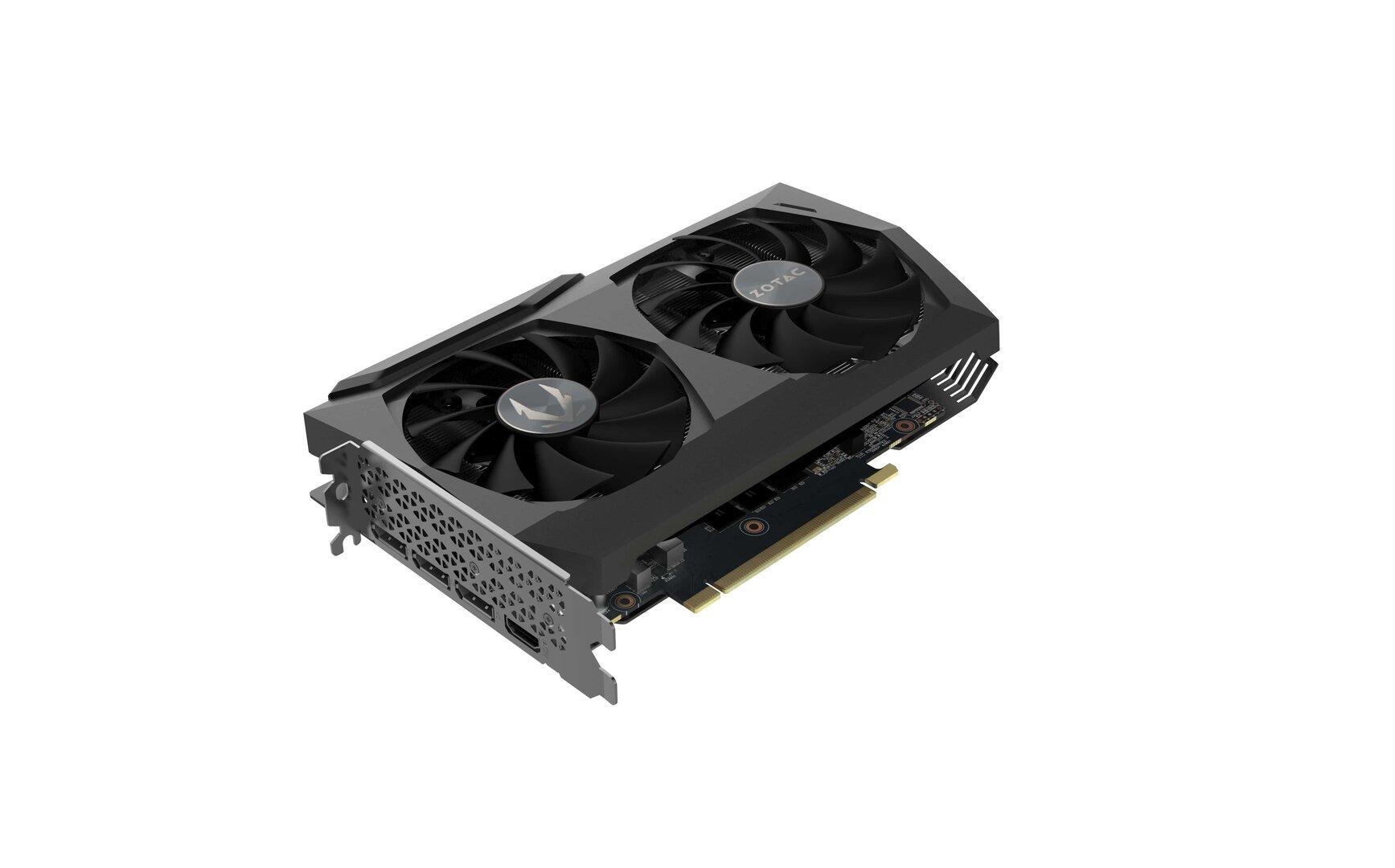 Die GeForce RTX 3070 Twin Edge von Zotac