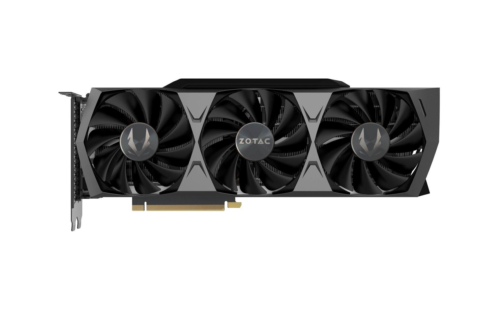 Die GeForce RTX 3090 Trinity von Zotac