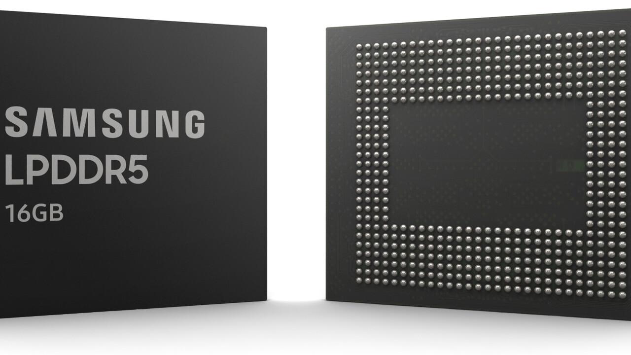 Notebook-/Smartphone-RAM: Samsungs LPDDR5-6400 in 1z-EUV-Fertigung ist fertig
