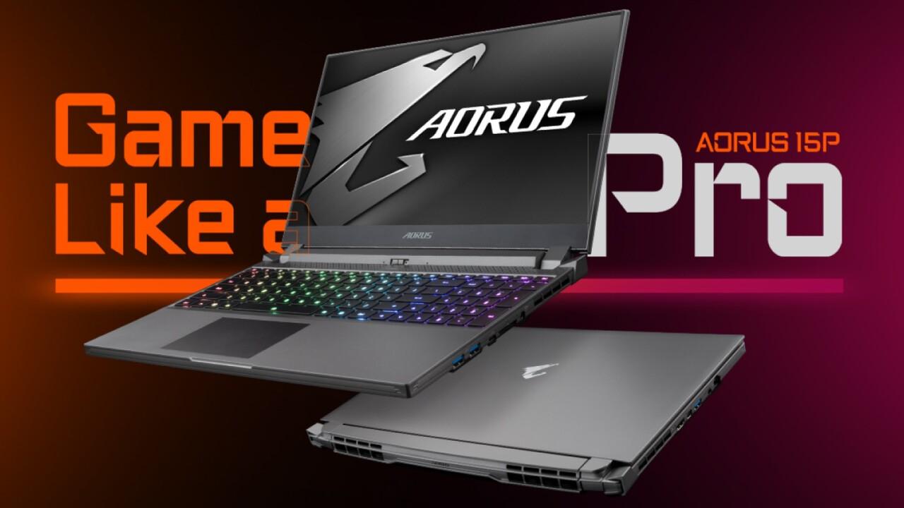 Gigabyte Aorus 15P: Schlankeres Aorus 15G nur mit 144-Hz-Display und RTX-GPU
