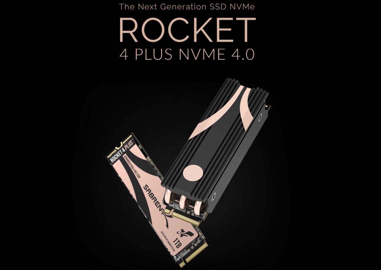 Sabrent Rocket 4 Plus SSD