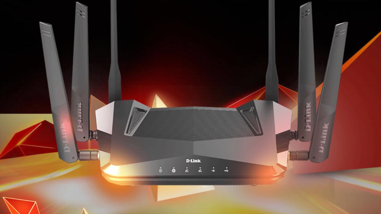 Dual-Band-Router mit Wi-Fi 6: D-Link DIR-X5460 vereint 6 WLAN-Streams und 160 MHz