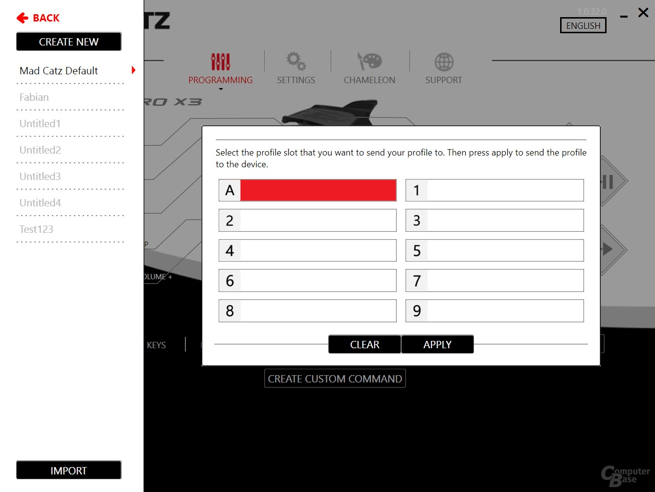 Mad Catz R.A.T. Pro X3 Software