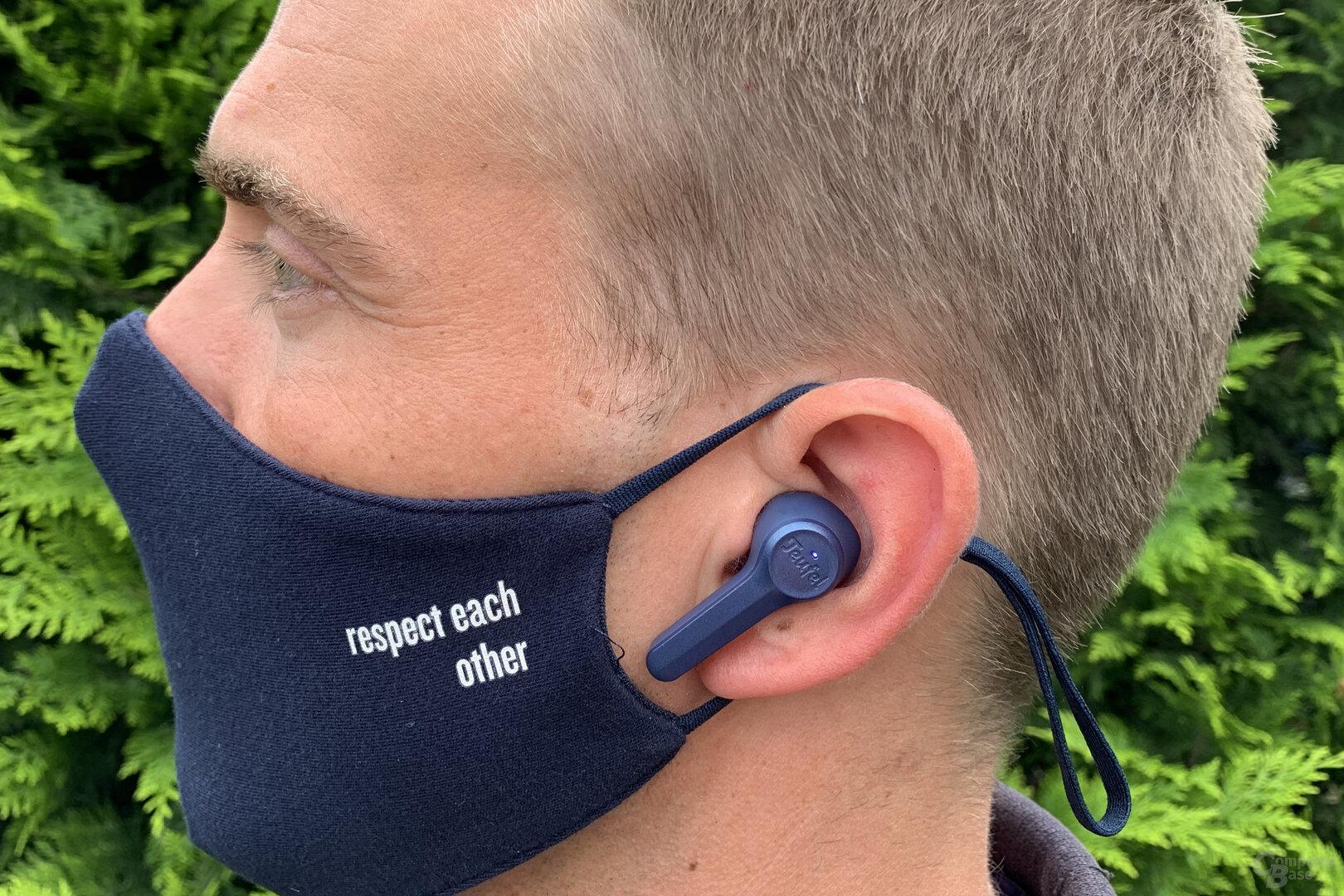 Tragekomfort der Teufel Airy True Wireless