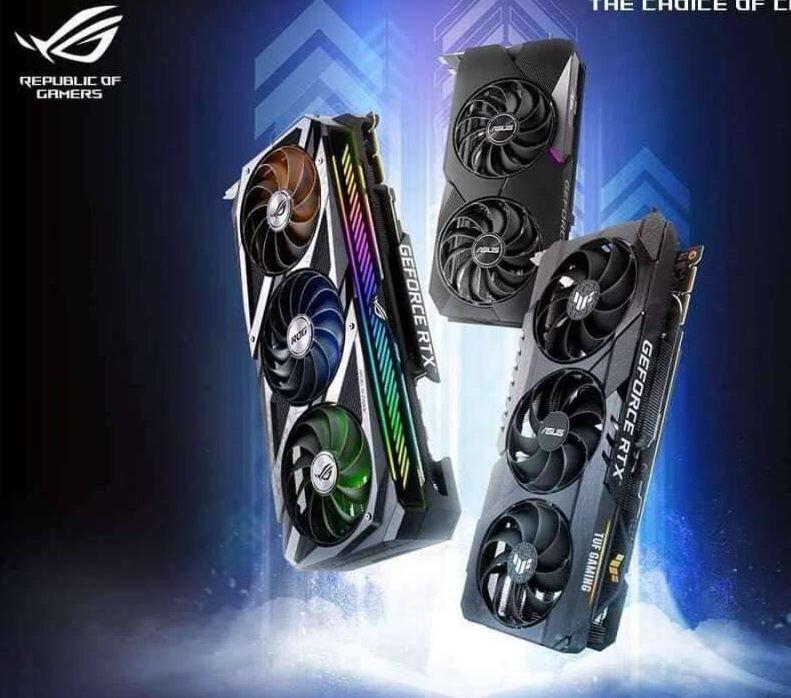 GeForce RTX 3000 von Asus