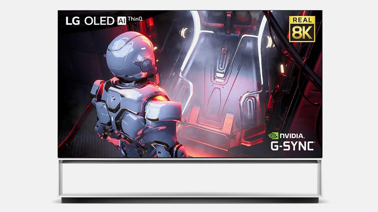 """Firmware-Update: LG macht 8K-OLED-TVs """"Ready"""" für GeForce RTX 3000"""