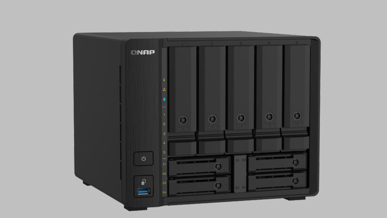 QNAP TS-932PX: 9-Bay-NAS mit je zwei Mal 10- und 2,5-Gigabit-LAN
