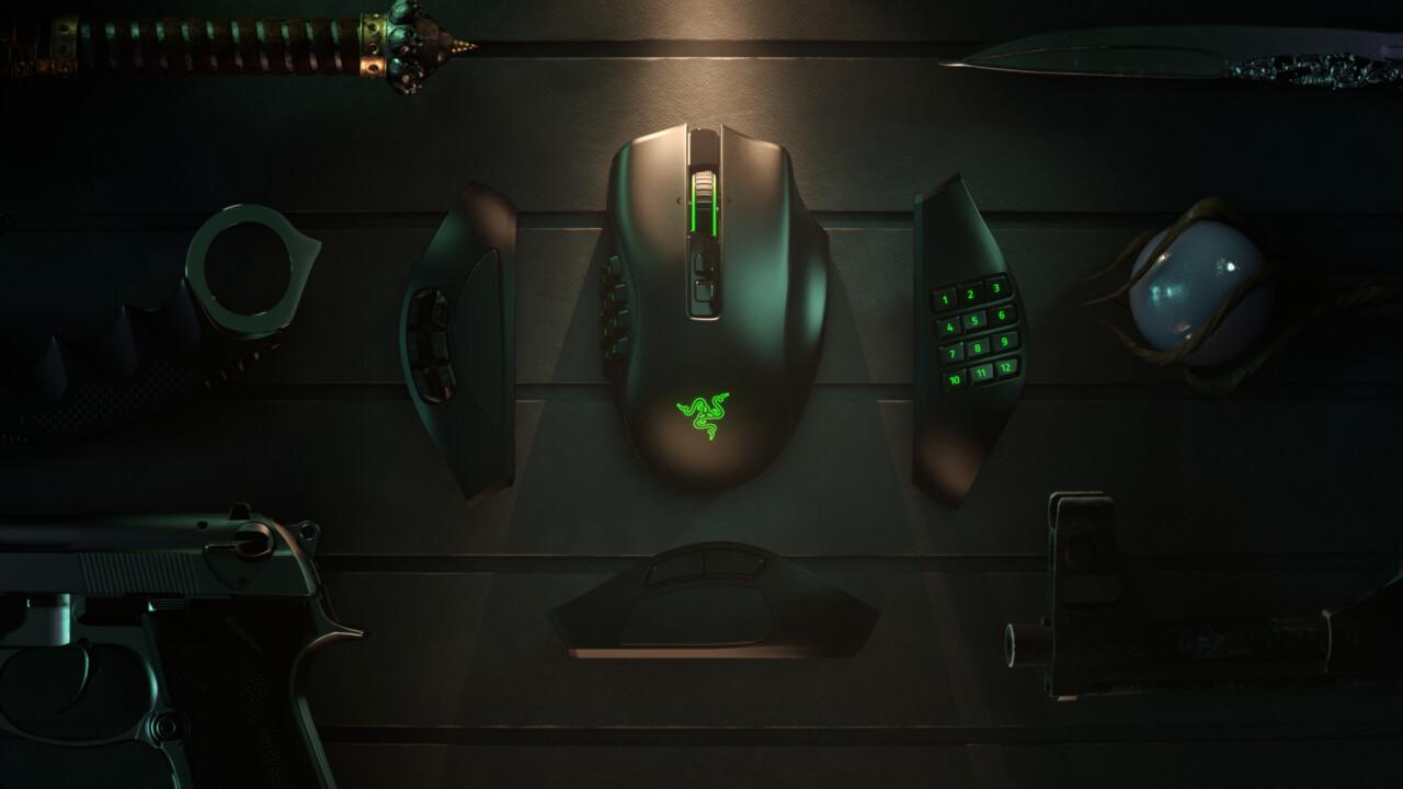 Razer Naga Pro: Modulare Maus wird mit High-End-Innenleben kabellos
