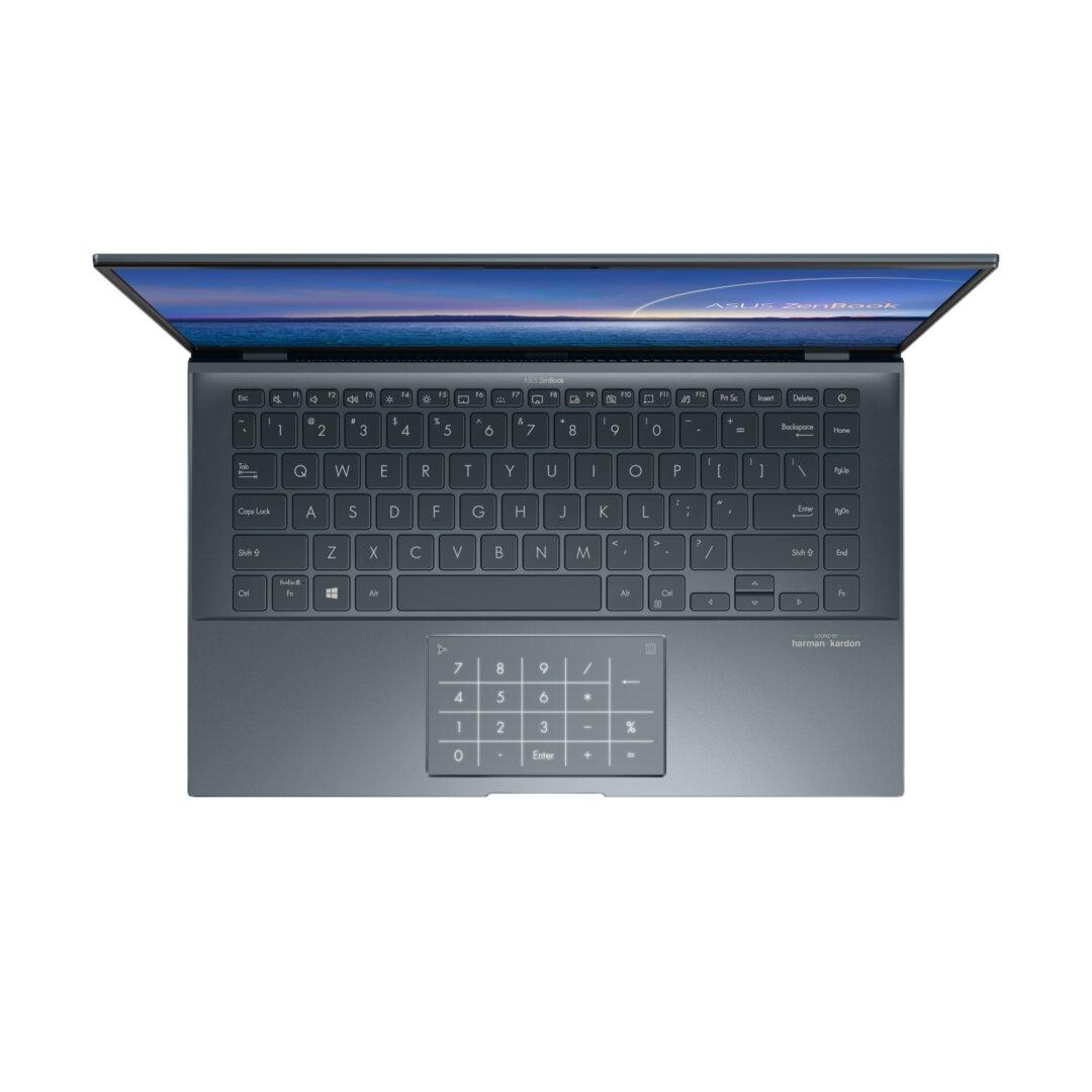 Das Asus ZenBook 14 (UX435) mit Intel Tiger Lake