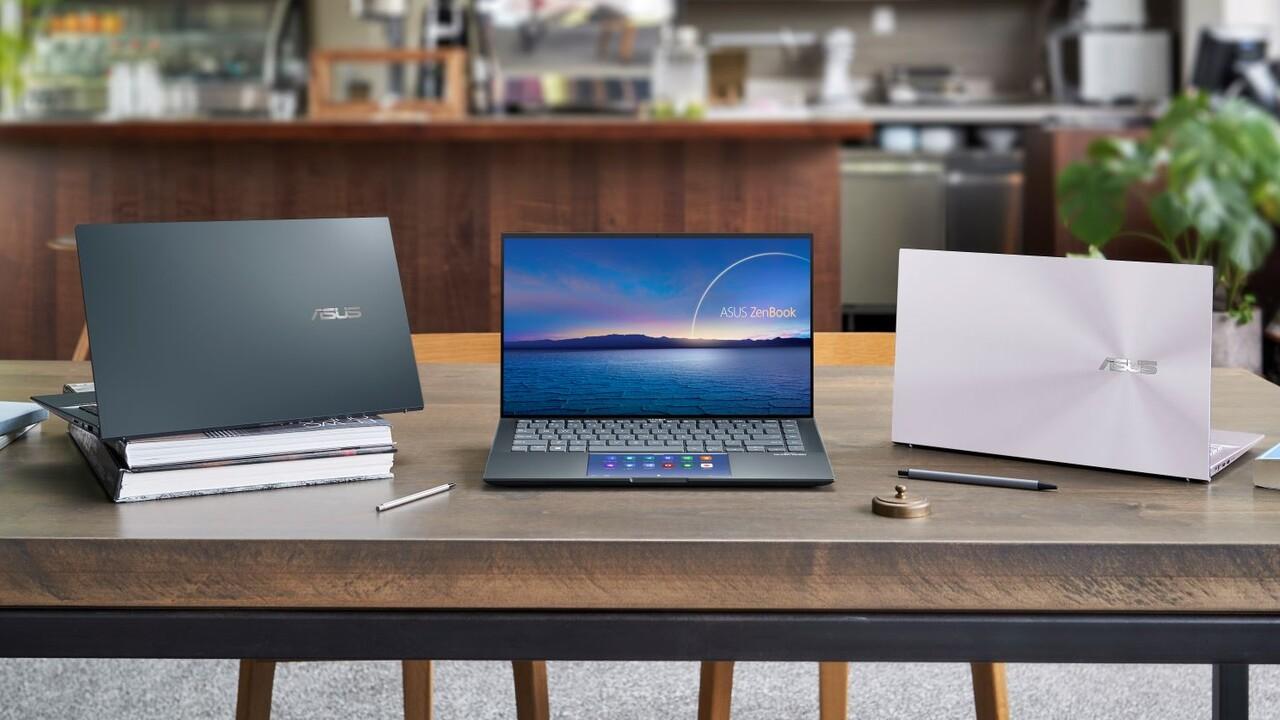 Asus ZenBook 14 Ultralight: 980 Gramm mit Intel Xe, 995 Gramm mit GeForce MX450