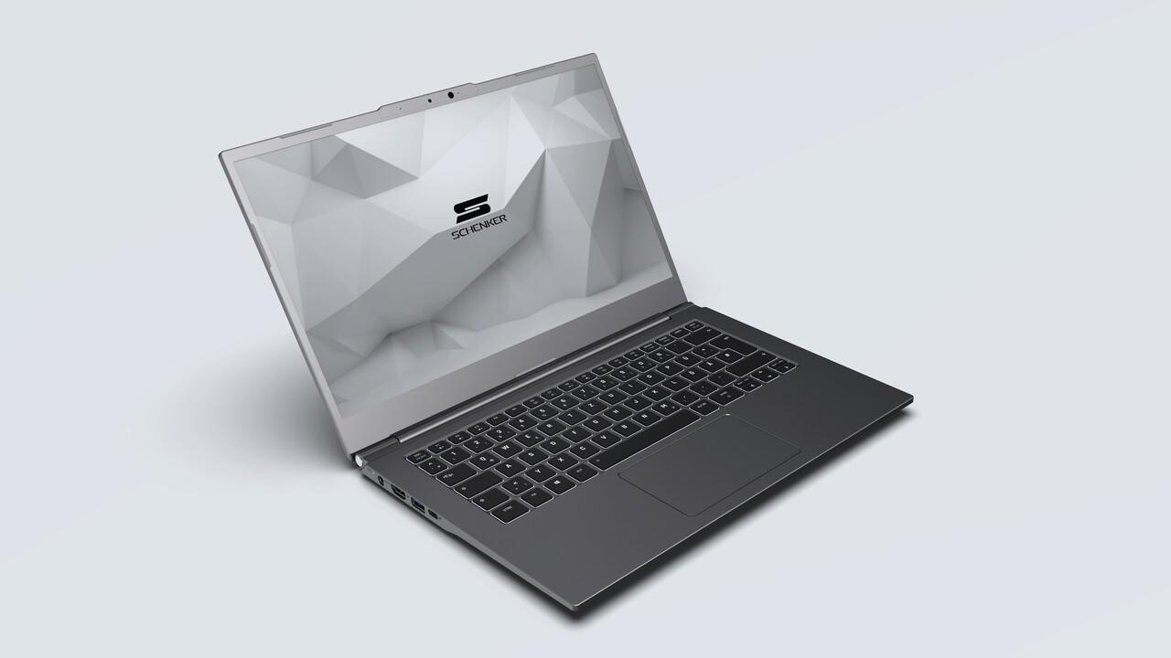 Schenker VIA 14 (L20): Das 1,1-Kilogramm-Notebook bekommt Tiger Lake und TB4