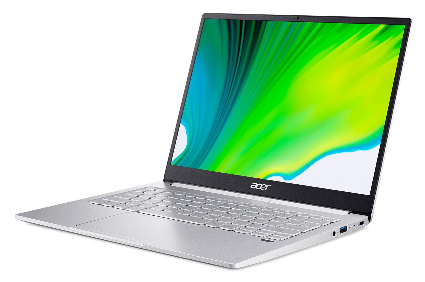Das Acer Swift 3 (SF313-53) mit 3:2-Display
