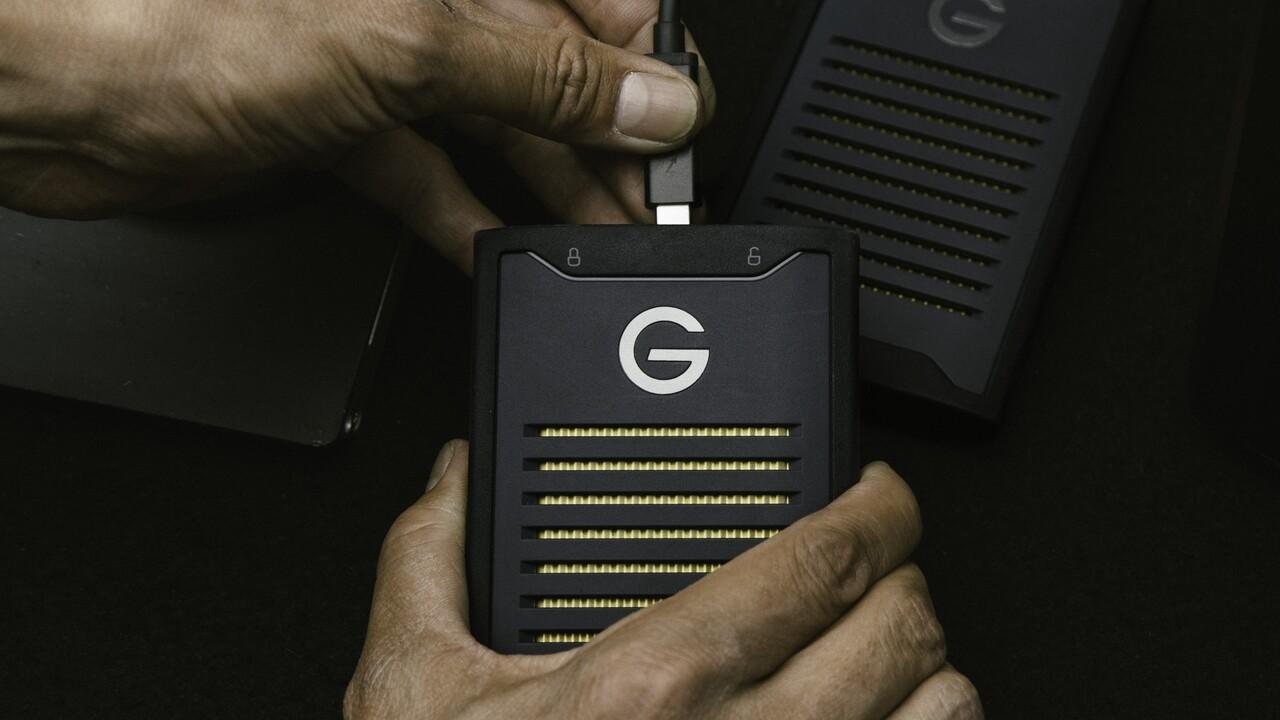 ArmorLock NVMe SSD: Robuster USB-Datenträger nutzt Handy als Schlüssel