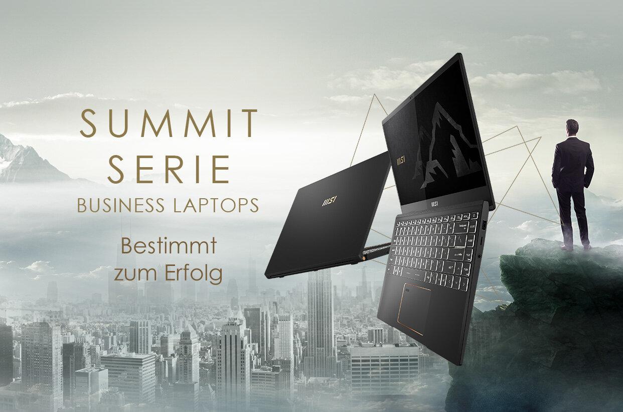 Das neue MSI Summit E15 mit Intel Tiger Lake