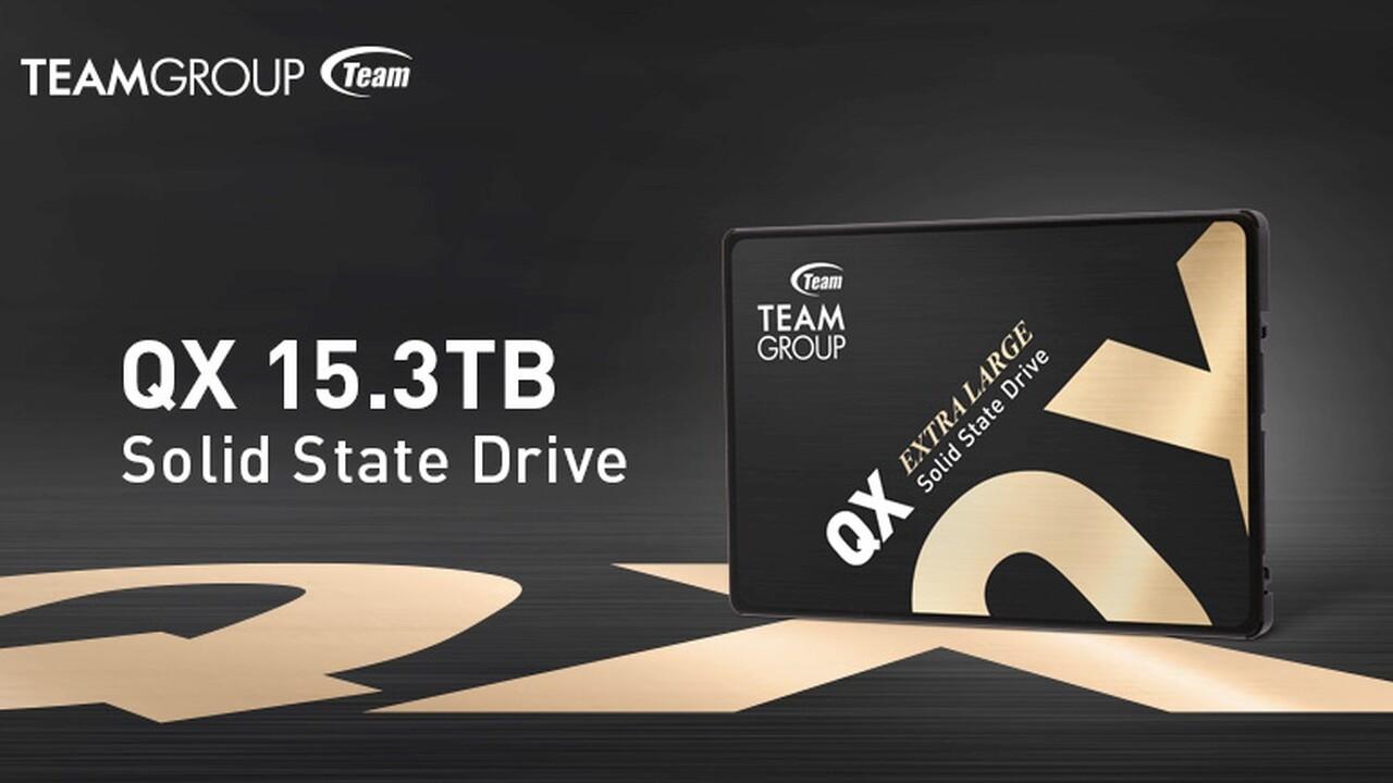 Team Group QX: Erste 15-TB-SSD für Verbraucher hat ihren Preis
