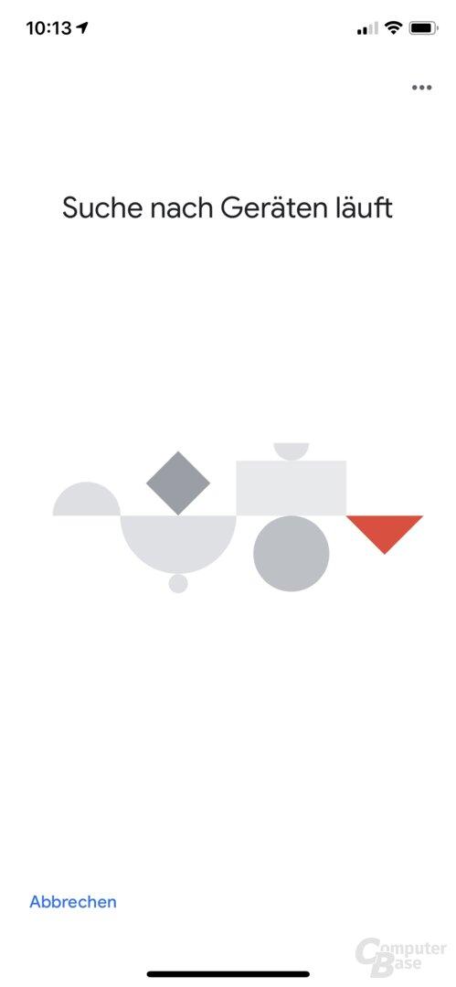 Einrichtung des Belkin Soundform Elite Smart Speaker über die Google-Home-App