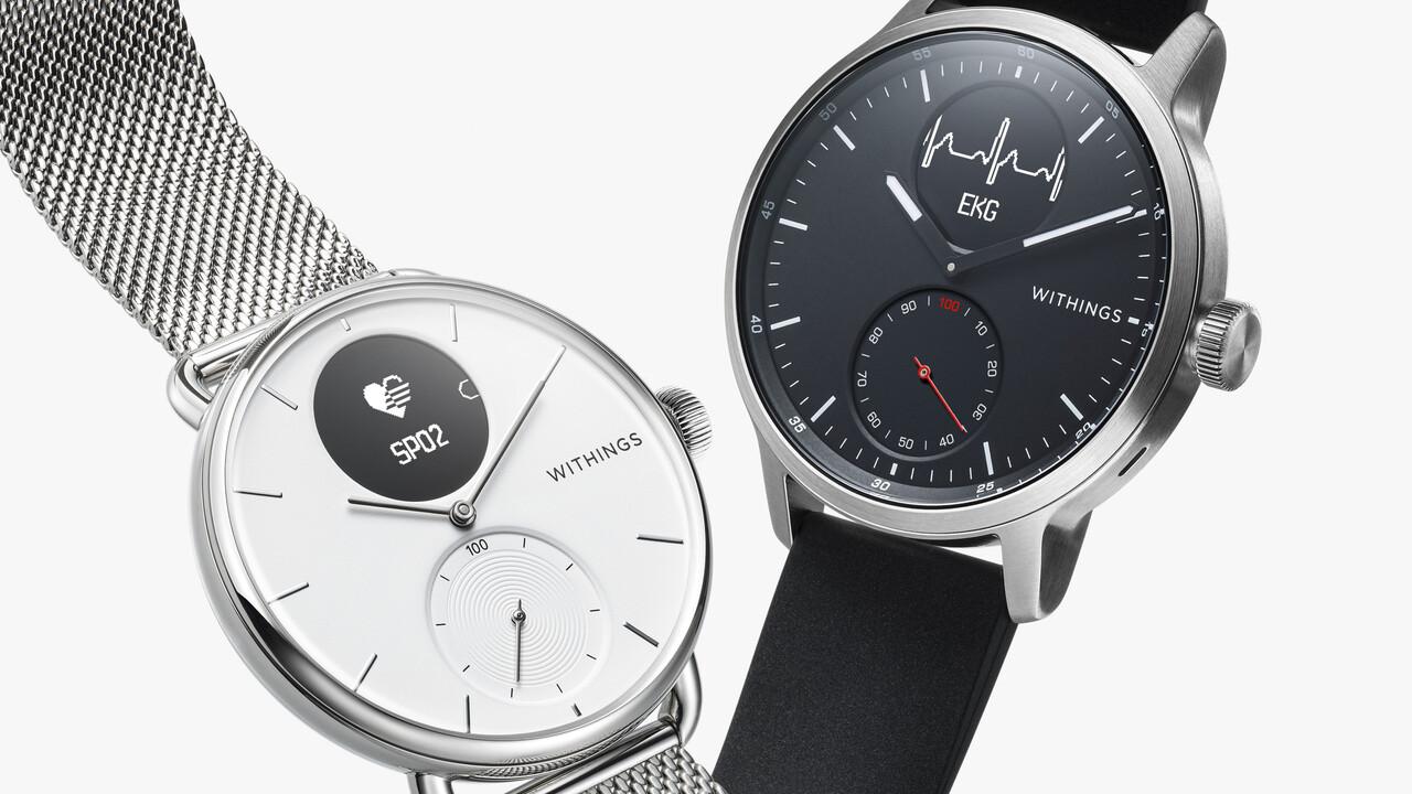 Withings ScanWatch: Hybride EKG Smartwatch ab heute erhältlich