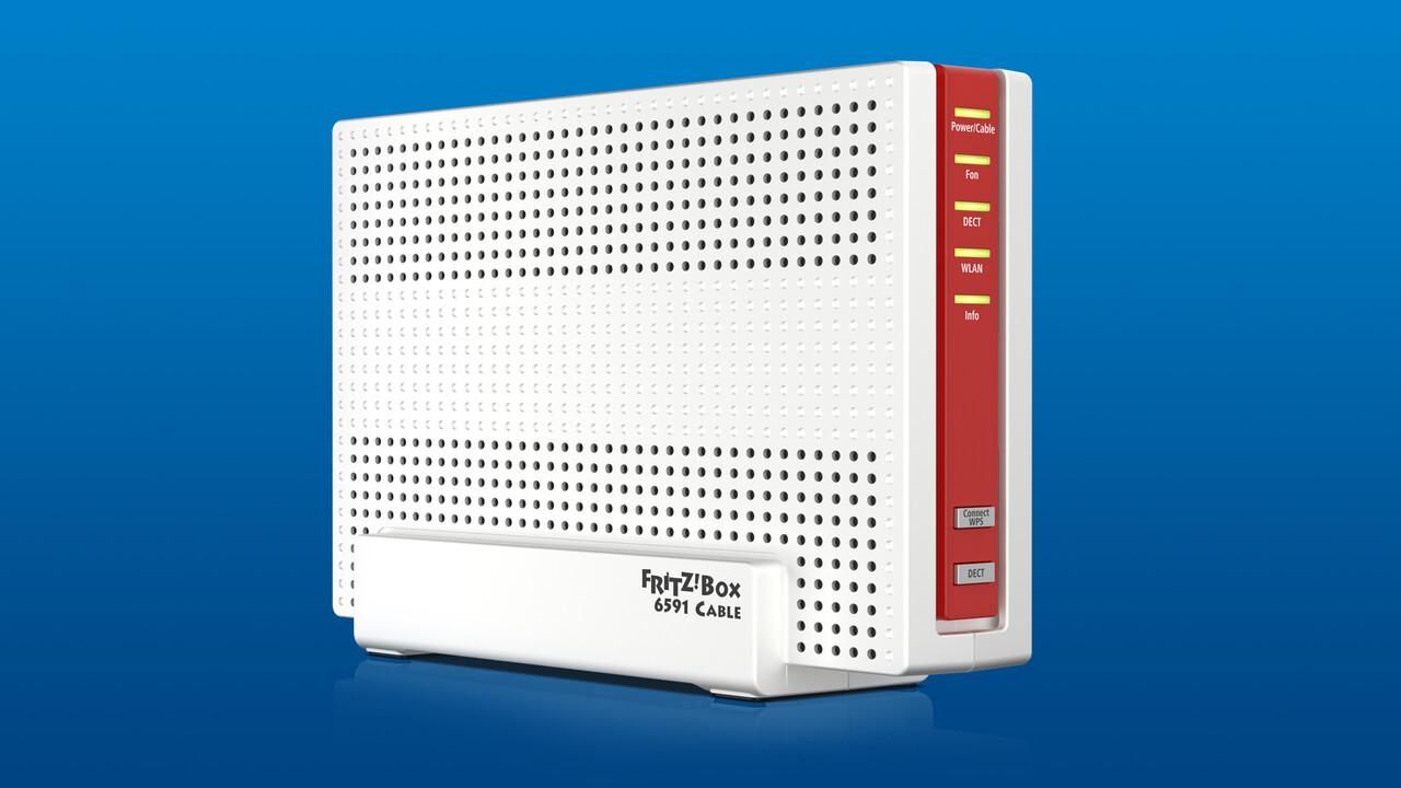 Fritz!OS 7.21: Update für AVM Fritz!Box 6591 Cable steht bereit