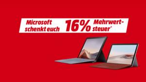 MediaMarkt & Saturn: Rabatt auf Microsoft Surface und Samsung Galaxy