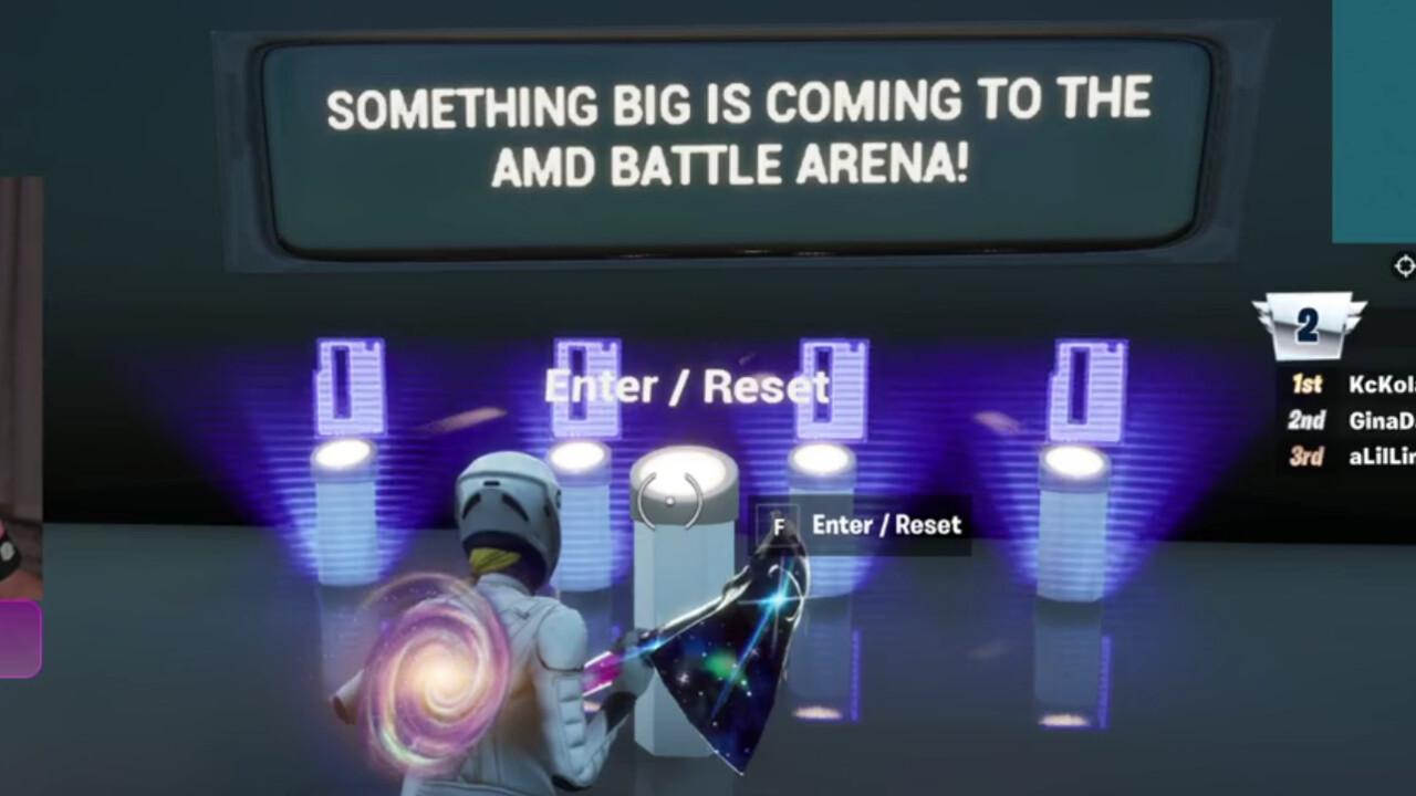 AMD Fortnite Map: Easter Egg weist auf Big Navi als Radeon RX 6000 hin