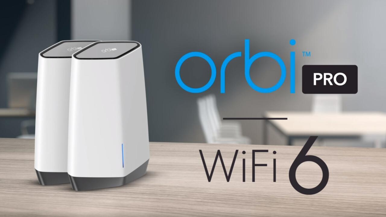 Orbi Pro WiFi 6 (SXK80): Netgears Profi-Mesh mit Wi-Fi 6 kostet als 2er-Set 870Euro