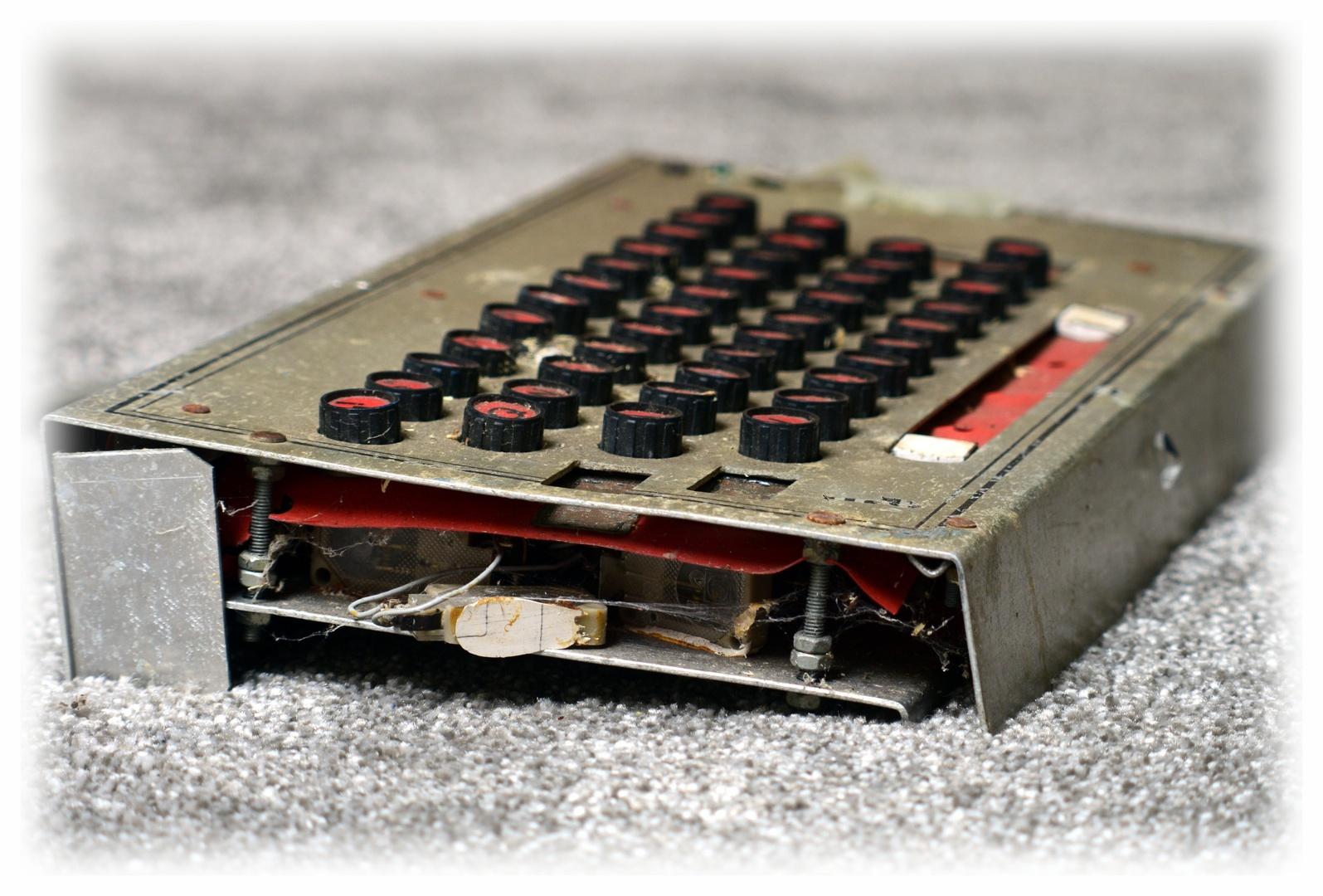 Die Tastatur des...