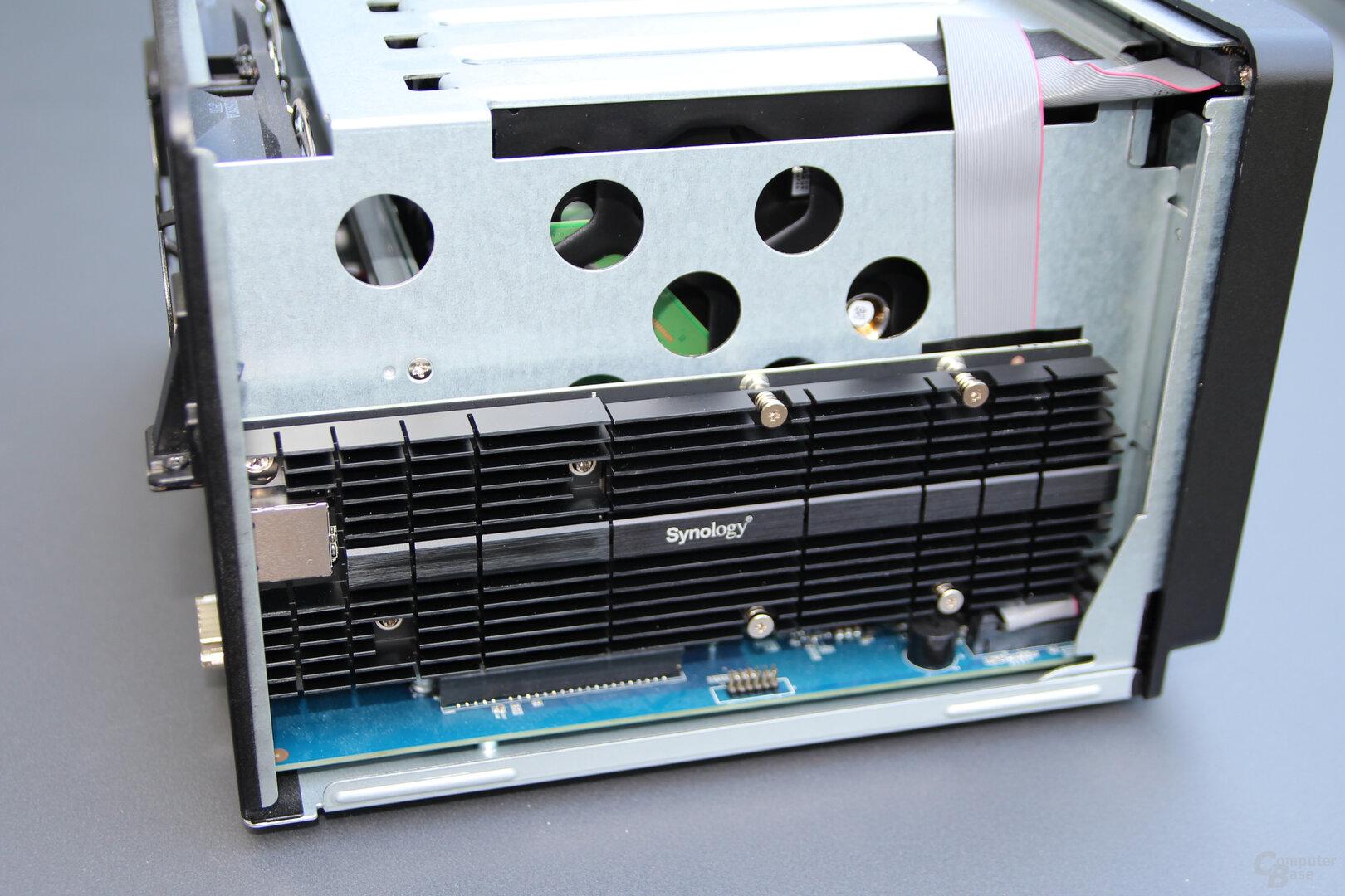 Synology E10M20-T1 und SNV3400 in der DS3018xs