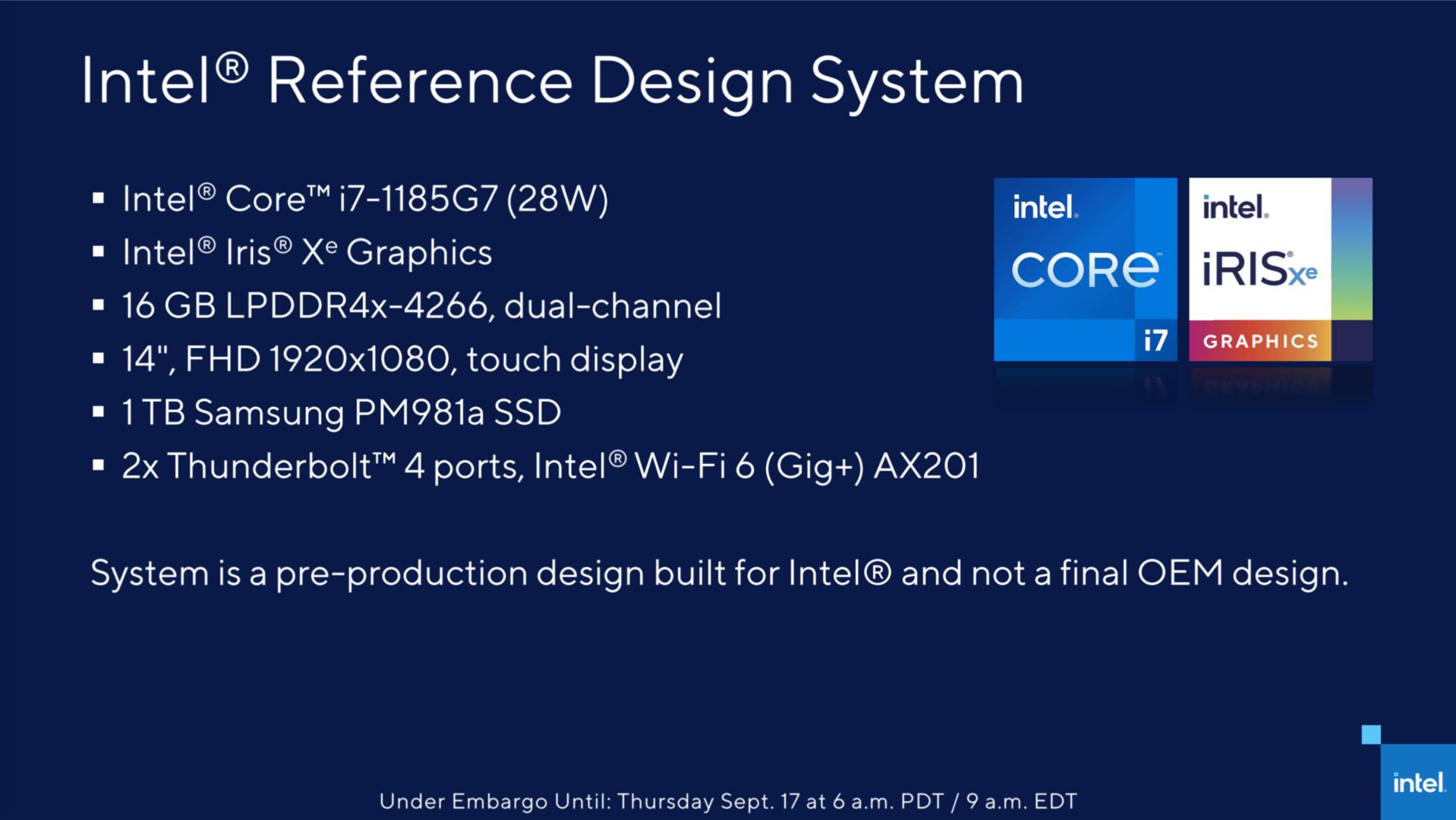 Intel-Whitebook mit Core i7-1185G7