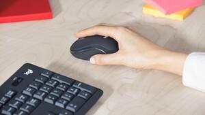 Logitech K295 Silent Wireless: Tastatur und Maus werden leiser gemacht