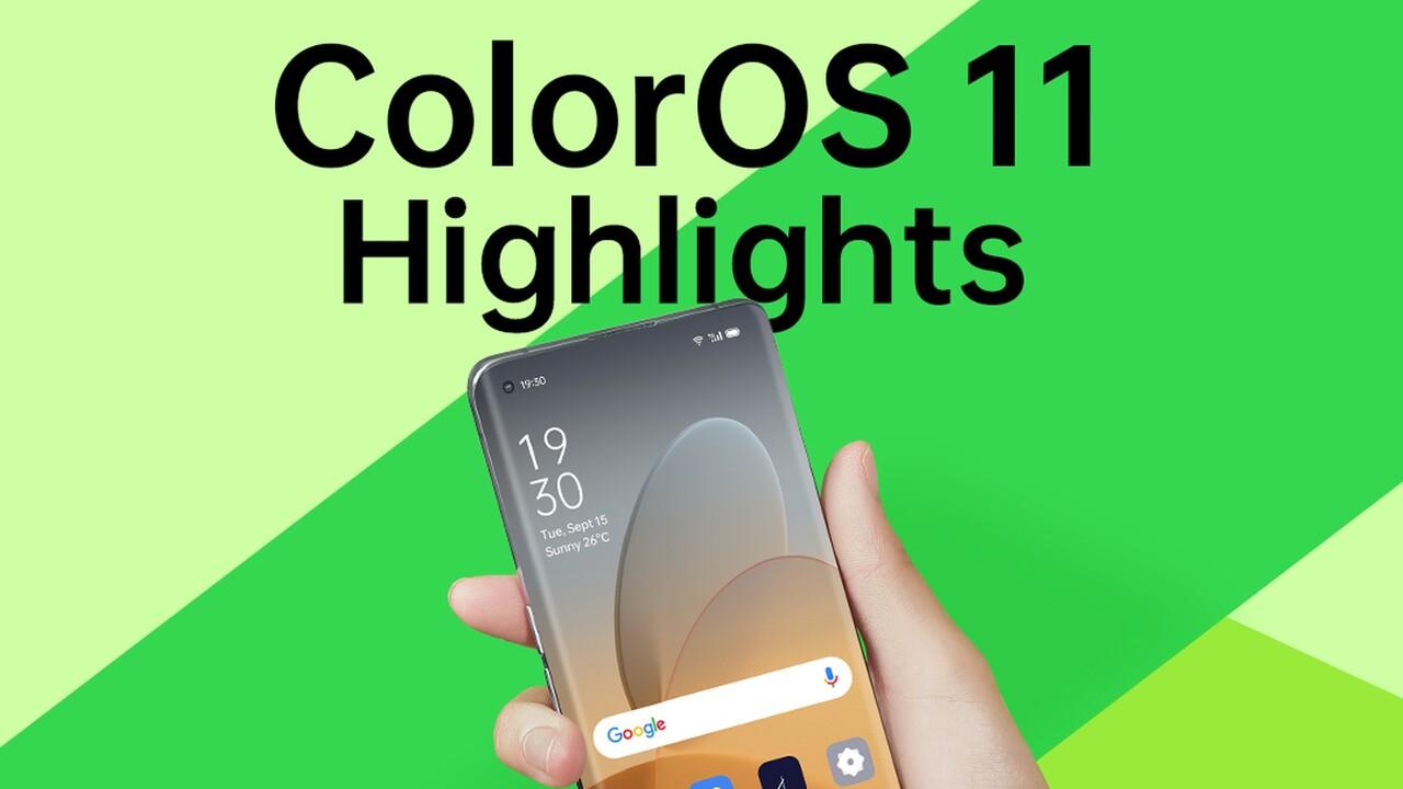 ColorOS 11: Oppo-Smartphones erhalten Android 11 ab Dezember
