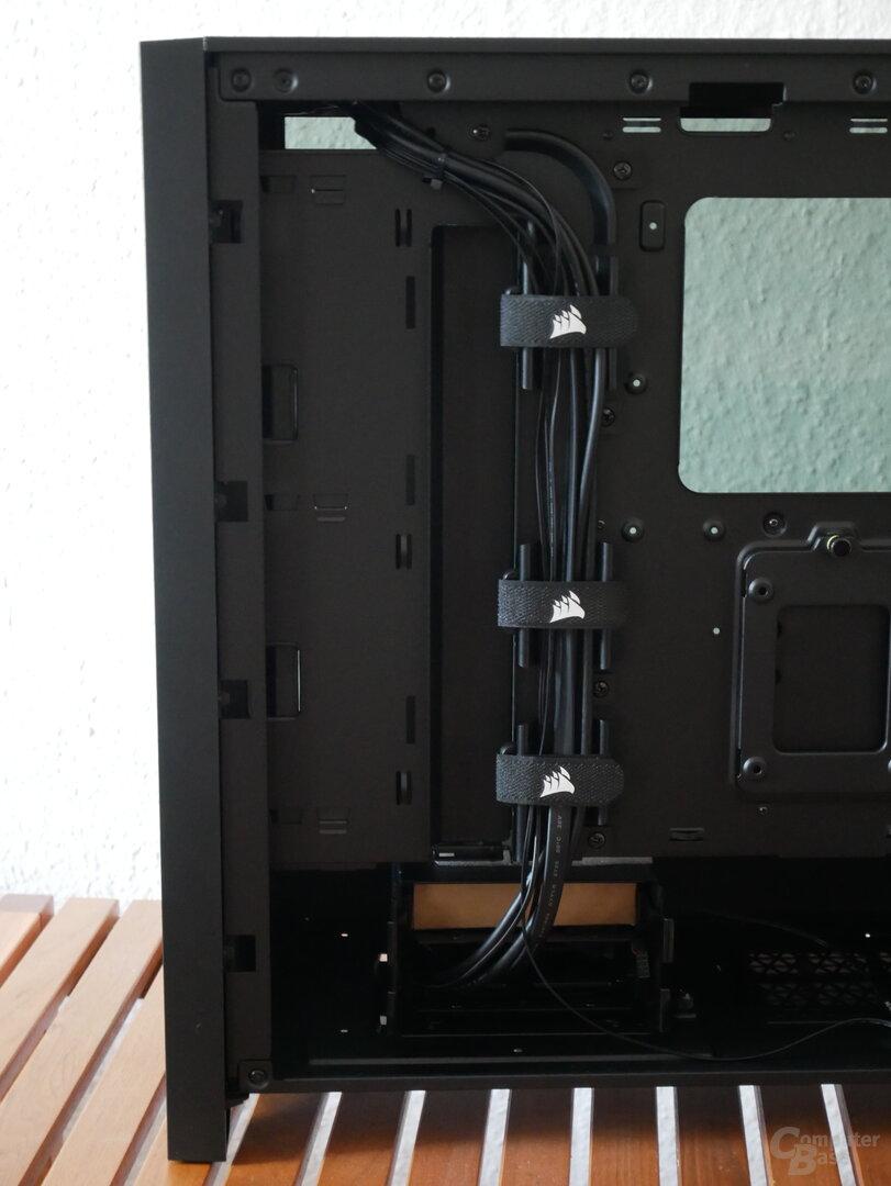 Corsair 4000D Airflow Kabelmanagement