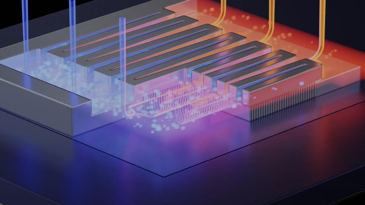 Großes Potenzial: Wasserkühlung als Teil von Mikrochips