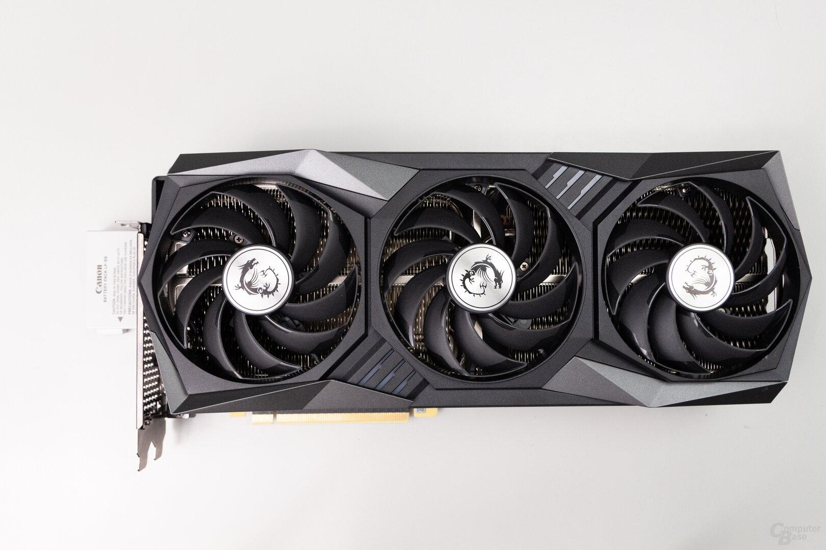 MSI GeForce RTX 3080 Gaming Trio X: 32,5 cm