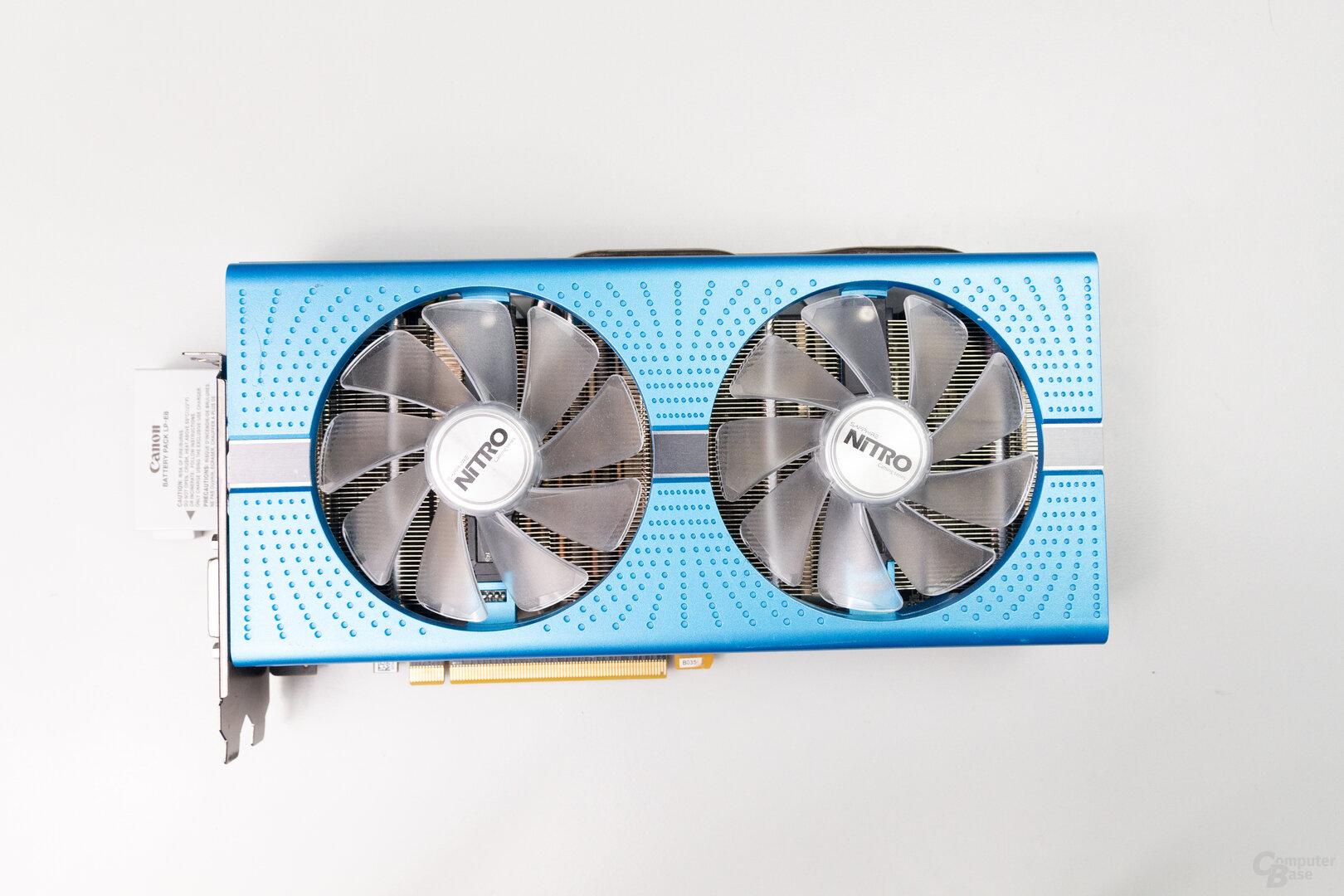 Sapphire Radeon RX 590 Nitro+: 26,0 cm