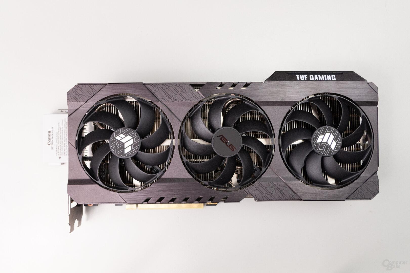 Asus GeForce RTX 3080 TUF Gaming: 30,5 cm